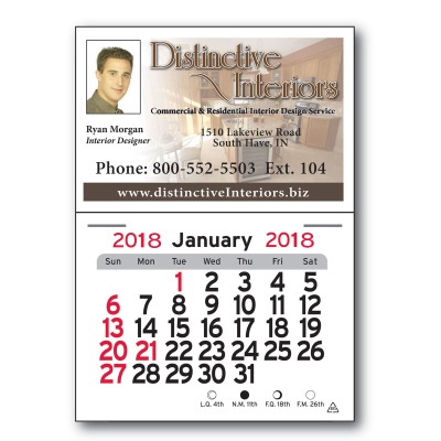 Picture of Calendar Magnet - Business Card