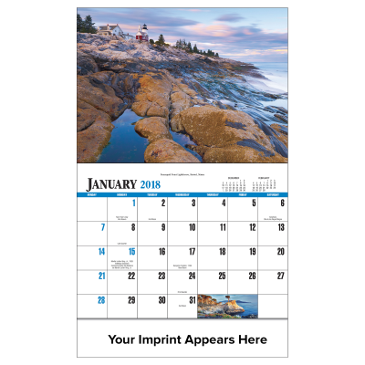 Picture of Scenic America Wall Calendar