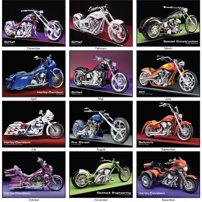 Picture of Custom Cycles Wall Calendar