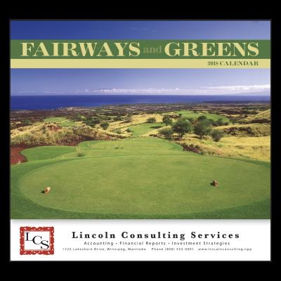 Picture of Fairways & Greens Wall Calendar