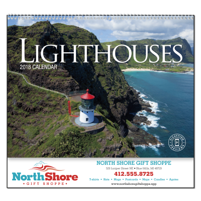 Picture of Lighthouses Wall Calendar