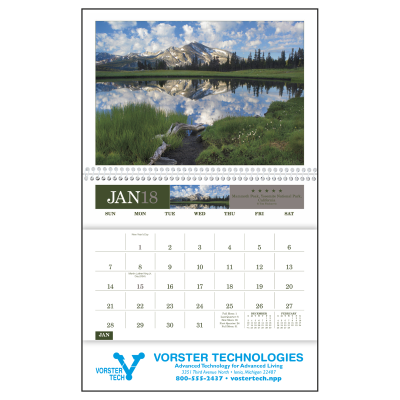 Picture of American Splendor Pocket Wall Calendar