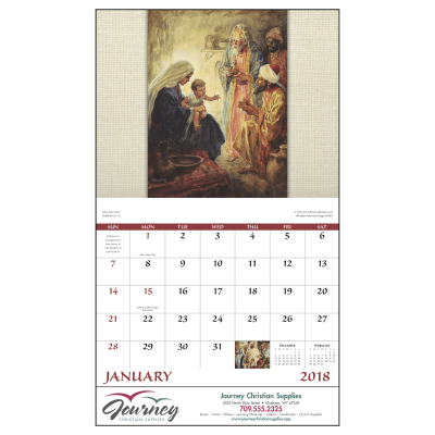 Picture of Faithful Followers Wall Calendar