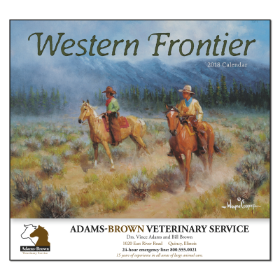 Picture of Western Frontier Wall Calendar