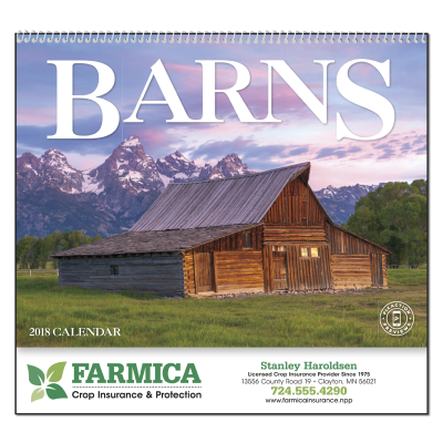 Picture of Barns Wall Calendar