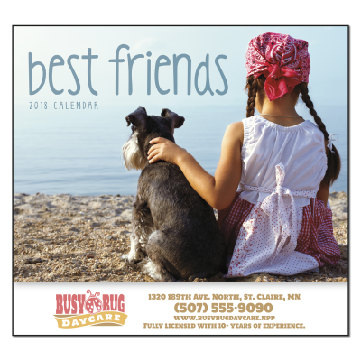 Picture of Best Friends Wall Calendar