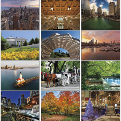 Picture of Chicago Wall Calendar