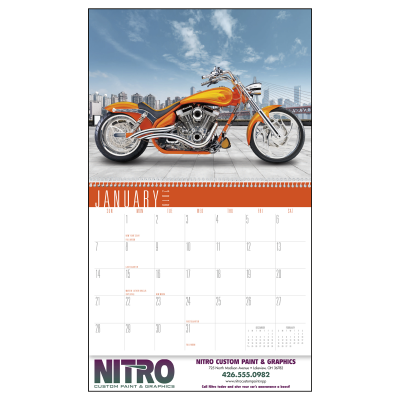 Picture of Custom Bikes Wall Calendar