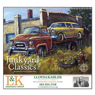 Picture of Junkyard Classics Wall Calendar