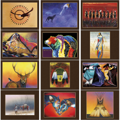 Picture of Native American Art Wall Calendar