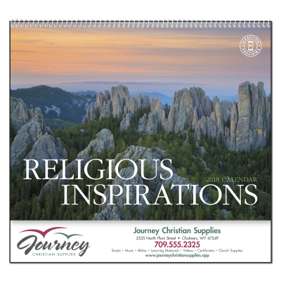 Picture of Religious Inspirations Wall Calendar