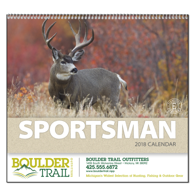 Picture of Sportsman Wall Calendar