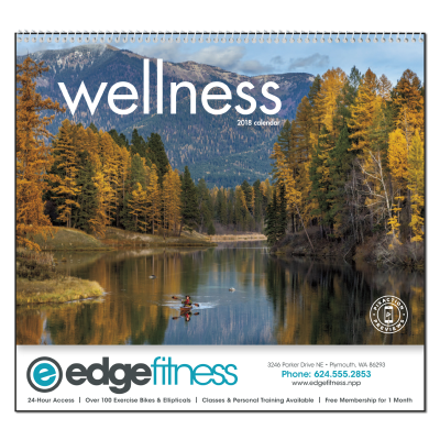 Picture of Wellness Wall Calendar