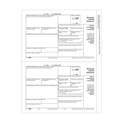 Picture of Form 1098 - Copy C Recipient/Lender (5152)