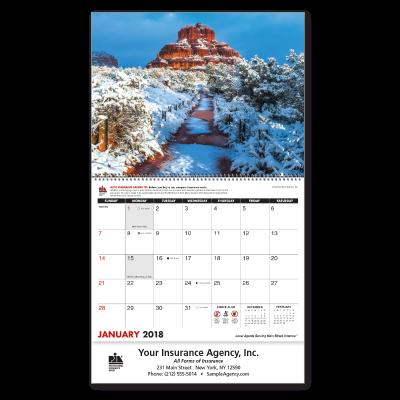 Picture of PIA® Custom Scenic Wall Calendar