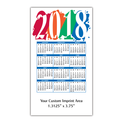 Picture of Calendar Magnet - Mighty Magnet