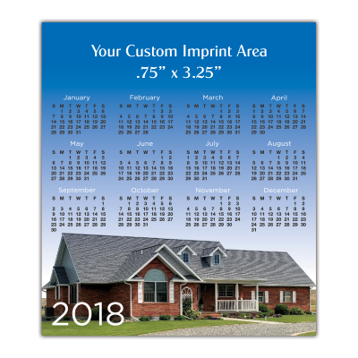 Picture of Calendar Magnet - New Home