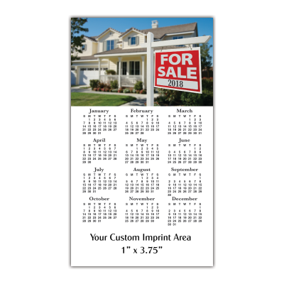 Picture of Calendar Magnet - Real Estate