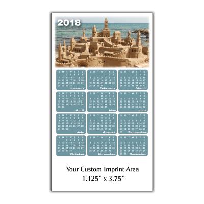 Picture of Calendar Magnet - Sandcastle
