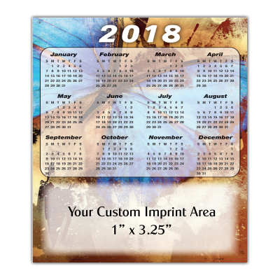 Picture of Calendar Magnet - Butterfly