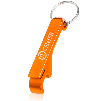 Picture of Custom Bottle Opener Metal Key Chain