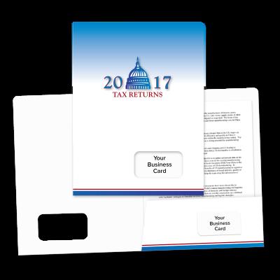 Picture of Success Tax Return Folders (Capitol)