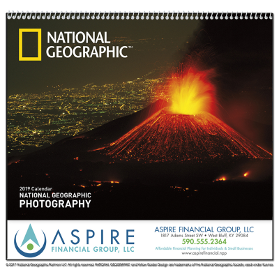 Picture of National Geographic Photography Wall Calendar