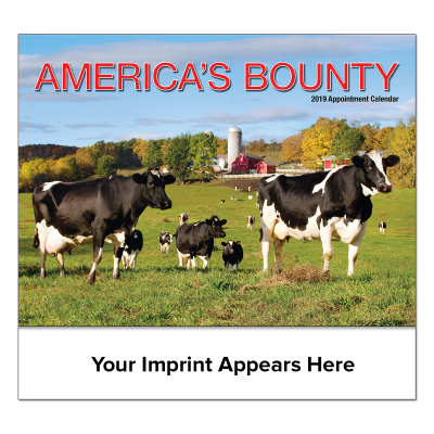 Picture of America's Bounty Wall Calendar