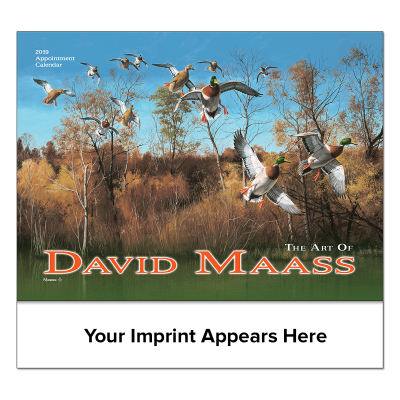 Picture of David Maass Wall Calendar