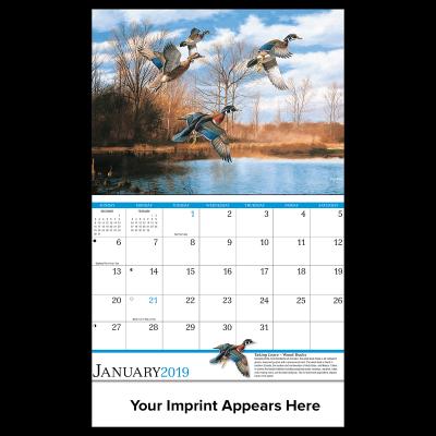 Picture of David Maass Wall Calendar
