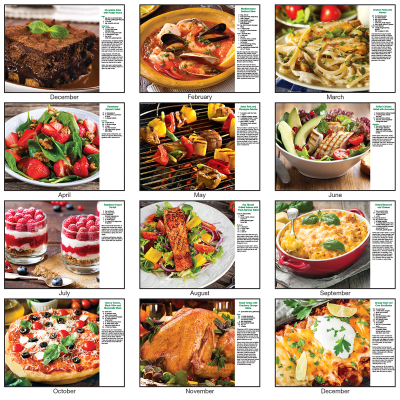 Picture of A Taste for Cooking Wall Calendar