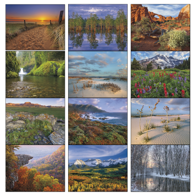 Picture of Landscapes Of America Wall Calendar