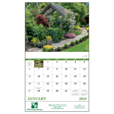 Picture of Garden Walk Wall Calendar