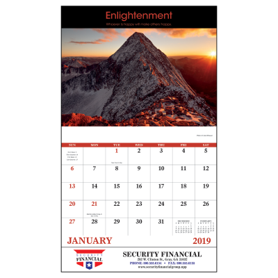 Picture of Motivations Wall Calendar