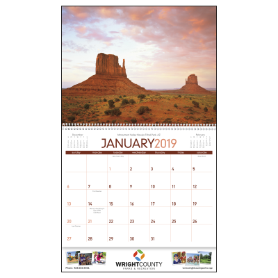 Picture of Beautiful America Wall Calendar