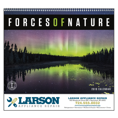 Picture of Forces of Nature Wall Calendar