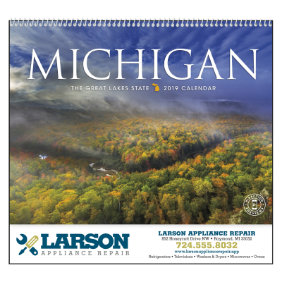 Picture of Michigan State Wall Calendar