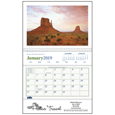Picture of Beautiful America Pocket Wall Calendar