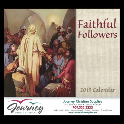Picture of Faithful Followers Wall Calendar