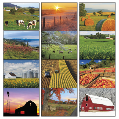 Picture of Agriculture Wall Calendar