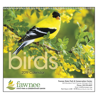 Picture of Birds Wall Calendar