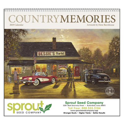 Picture of Country Memories Wall Calendar