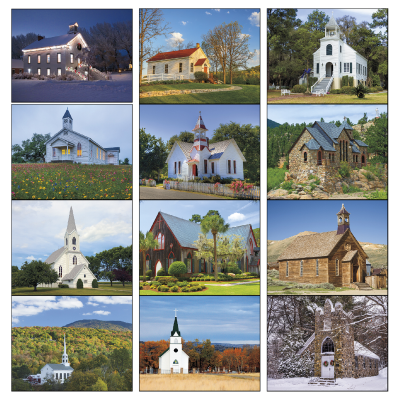 Picture of Scenic Churches Wall Calendar