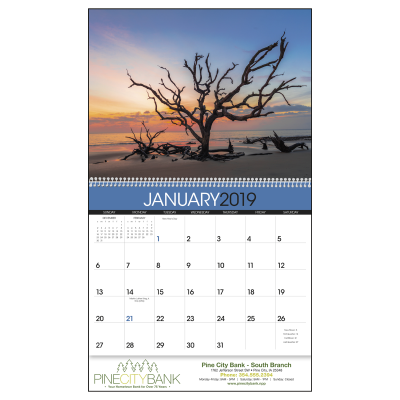 Picture of Sunrise Sunset Wall Calendar