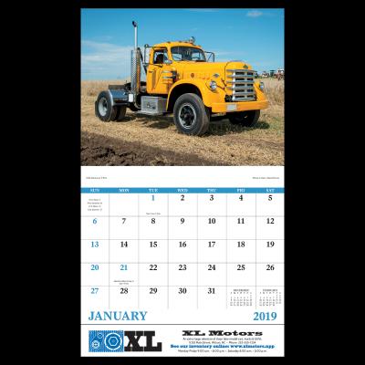 Picture of Treasured Trucks Wall Calendar
