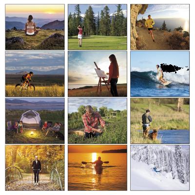 Picture of Wellness Wall Calendar