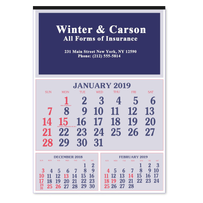 Picture of Royal Wall Calendar