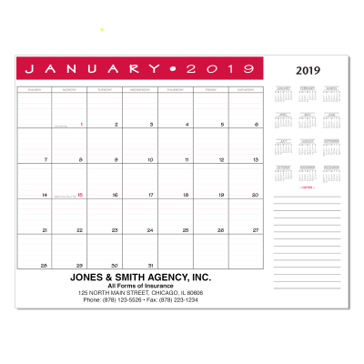 Picture of Jumbo Desk Pad Calendar