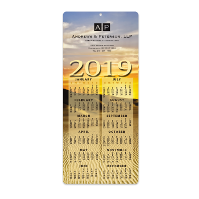 Picture of Desert Envelope-Size Calendar