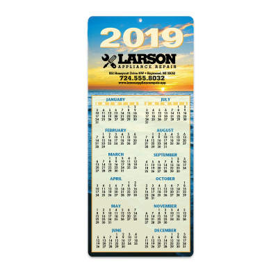 Picture of Sunset Envelope-Size Calendar